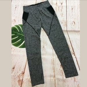 Pants - Athletic Marbled Workout Legging Pants